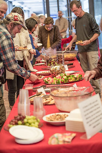 Buffet Table at the Celebration