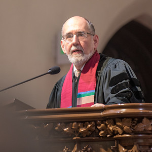 John Buehrens in the Pulpit