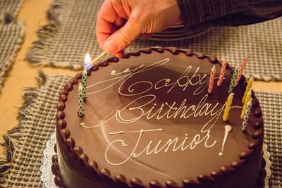 Junior's 28th Birthday