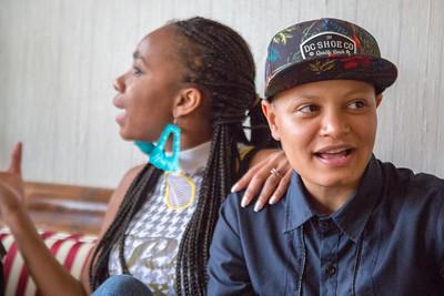 Cheyenne  and Mari