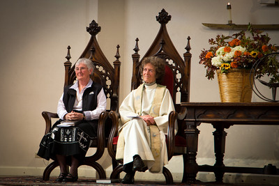 Sister Sheila and the Rev. Margot Campbell Gross