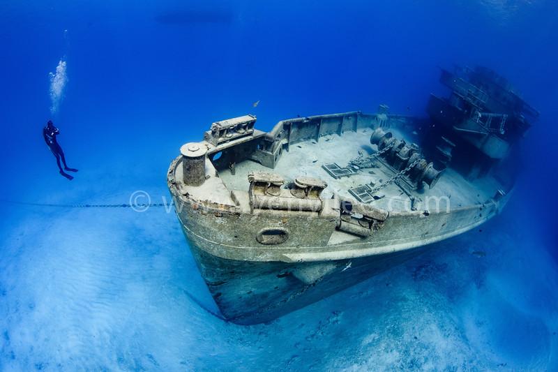 U.S.S. Kittiwake (三趾鷗號) @ Grand Cayman (開曼群島)