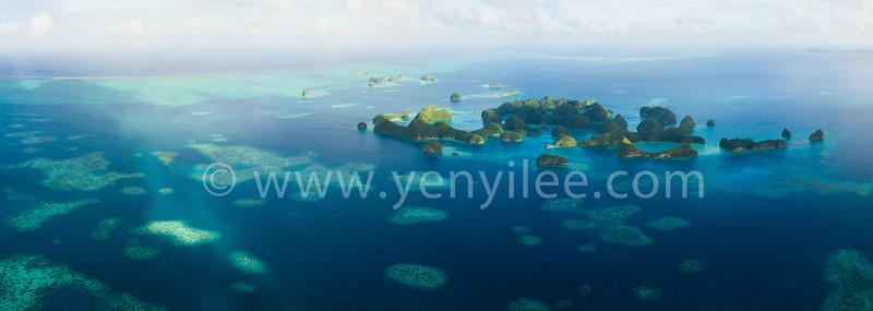Ocean Garden (海上花園) @ Rock Islands, Palau (帛琉 洛克群島)