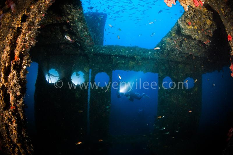 居庸艦 CE-867 Wreck @ Yilan (宜蘭), Taiwan.