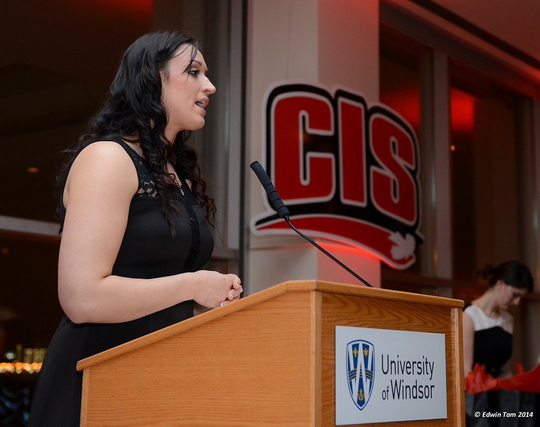 2014 CIS Women's Basketball Major Awards Banquet presented by the University of Windsor and the City of Windsor on March 13, 2014.