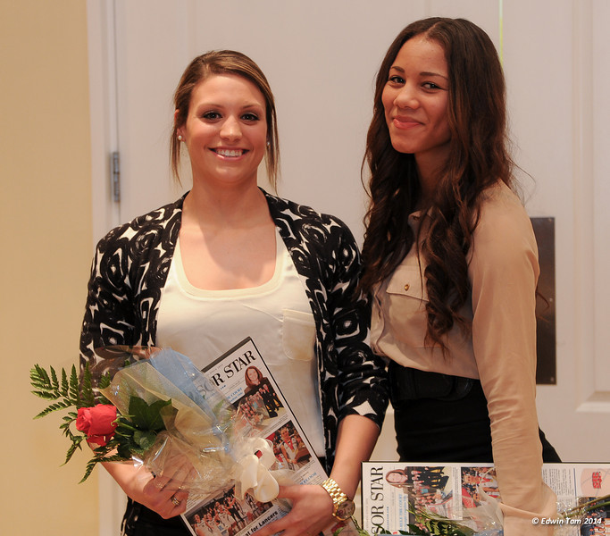 Lancers Womens Basketball Appreciation Evening at Ambassador Golf Course on April 4, 2014, hosted by Katherine Roth.