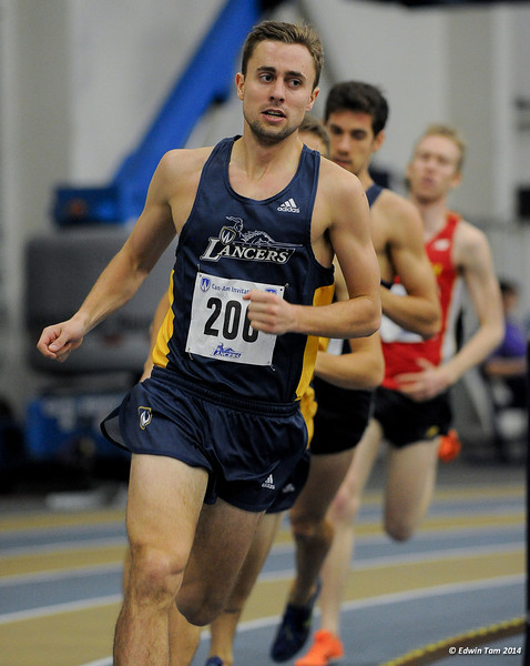 CAN-AM Track and Field Competition at the University of Windsor January 11, 2014.