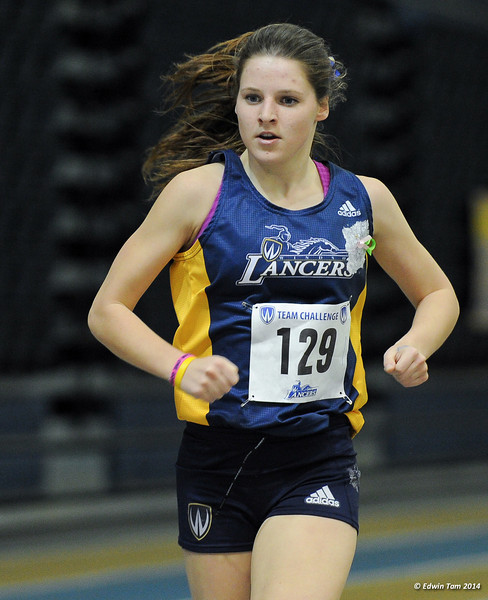 Team Challenge Track and Field Competition at the University of Windsor, St. Denis Centre, on February 9, 2014.