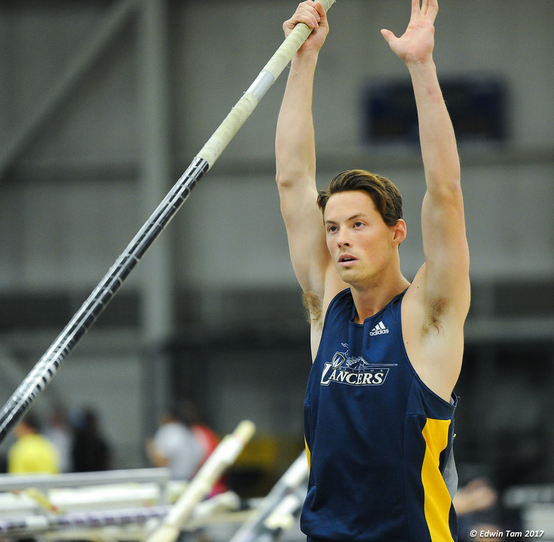CAN-AM Track and Field Competition held at the University of Windsor's Dennis Fairall Field House on January 14, 2017.