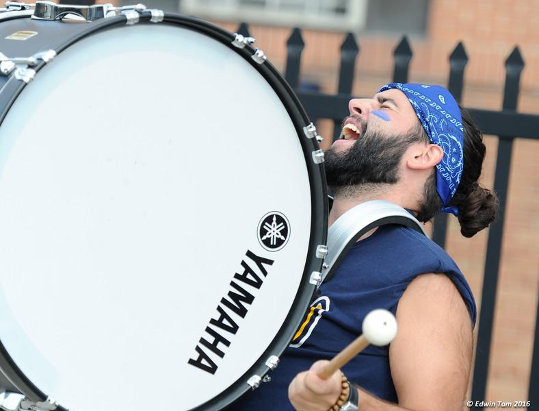 UWindsor Lancers vs Toronto Blues in OUA football action on Alumni Weekend, October 1, 2016 at Alumni Field, University of Windsor.  The Lancers won 50 to 31! Copyright Edwin Tam 2016.