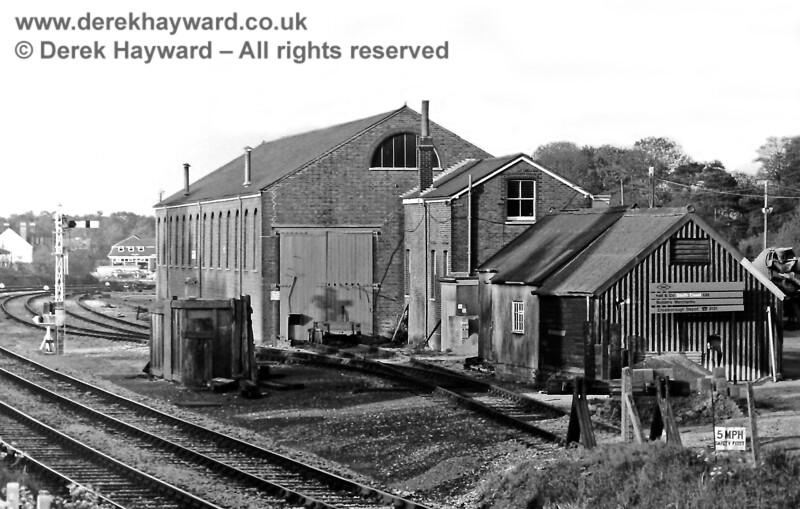 Crowborough goods shed, 21 05 1975 E