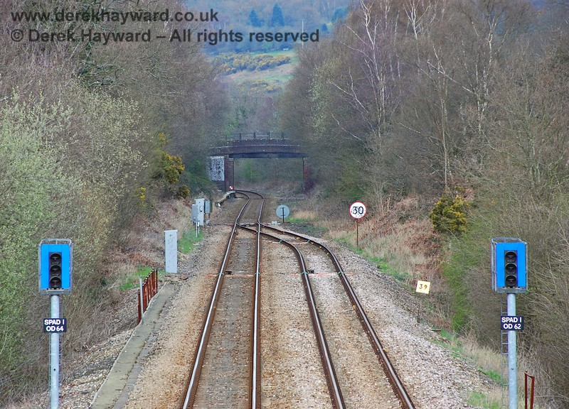 A slightly longer lens shows the SPAD signals and junction more clearly. 10.04.2008
