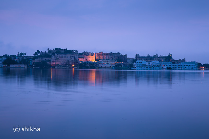 Udaipur at the break of dawn