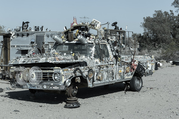 Slab City, Salton Sea, California 2016