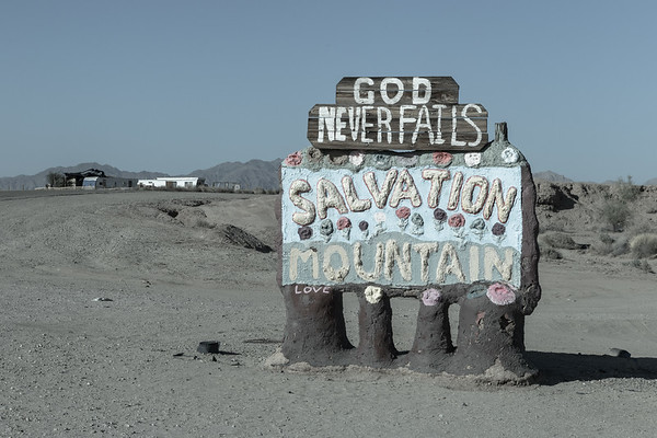 Salvation Mountain, Salton Sea, California 2016