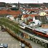 CFL Cargo med godstog<br /> Ved Vejle 5.4.09<br /> © Foto: Jens Hasse/Chili<br /> Dato: <br /> Chili foto & arkiv