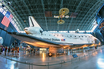 National Aeronautics and Space Administration Rockwell Space Shuttle Orbiter OV-103 7-11-18 3