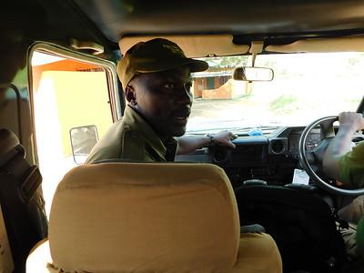 Ranger briefing / Ziwa Rhino Sanctuary