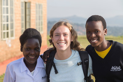 My Watoto sisters Scovia and Anthea. I finally met them in person!