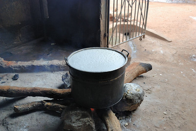 Lunch on the boil