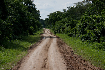 ...the roads in Uganda ...
