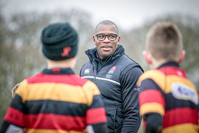 Ugo Monye at Harrogate Rugby