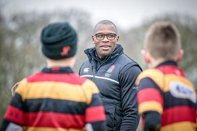 Ugo Monye at Harrogate Rugby