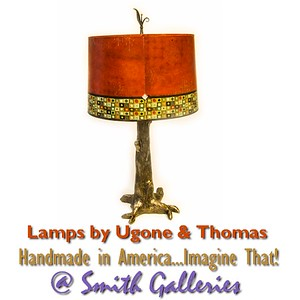 Ugone and Thomas lamps at Smith Galleries