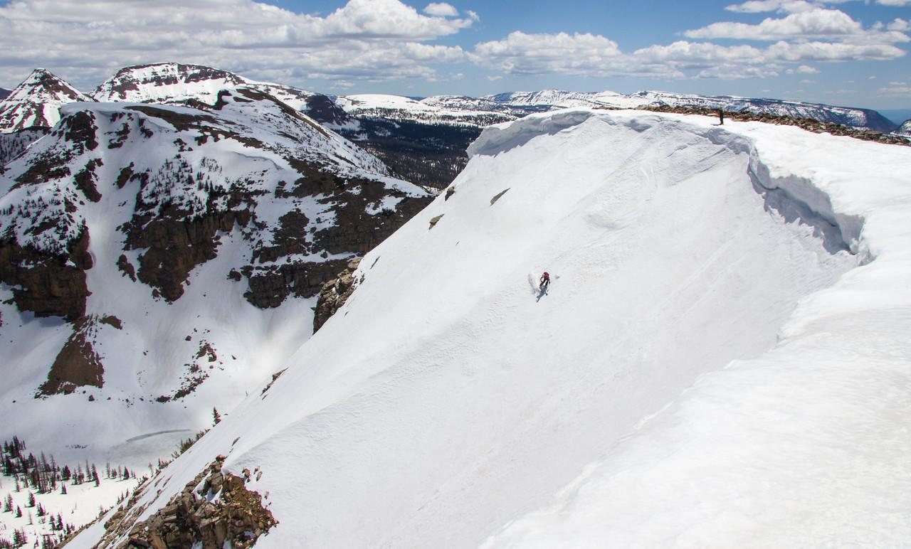 Uinta Skier Notch Mountain