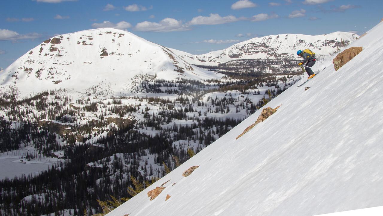 Notch mountain Skier