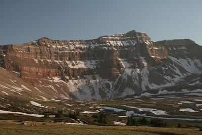 Fortress peak Uinta Mountains Utah