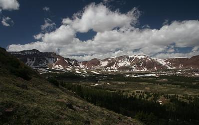 View from Gilbert Peak