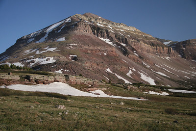 Dome peak Uinta mountains