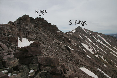 Kings summit, highest peak in Utah 13,528