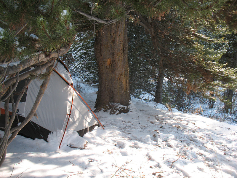 Winter camp Ledgefork Campground