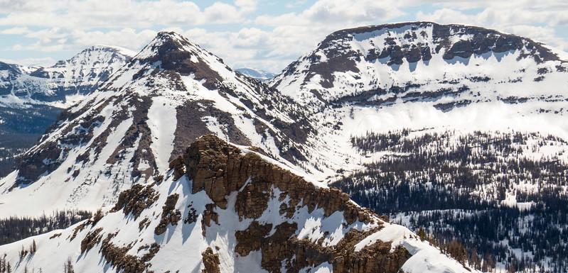 Quadruple peaks