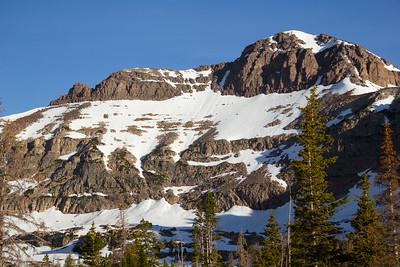 North face Hayden Peak