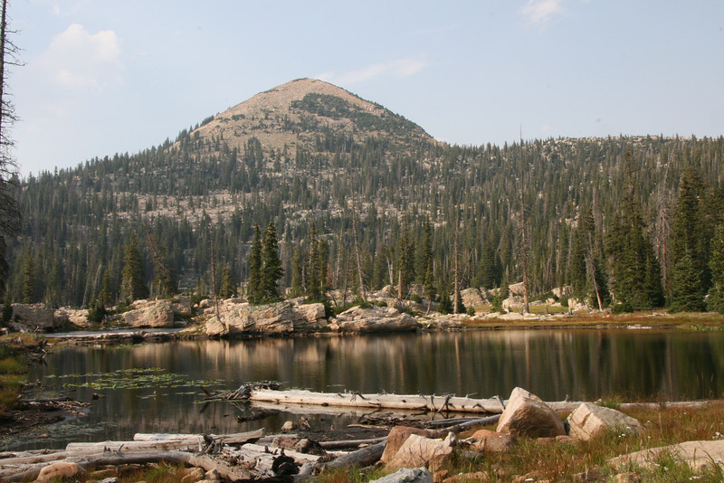 Island Lake, western Uinta mountains