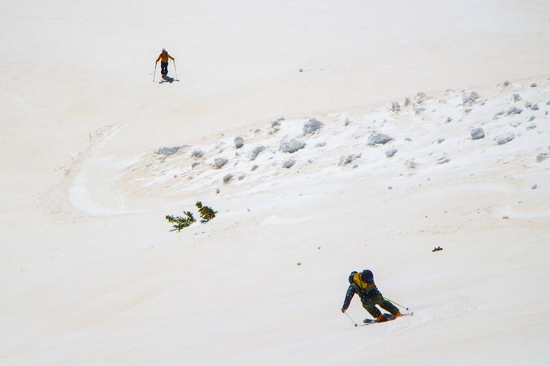Debris Skier