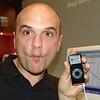 Glenn met iPod Nano