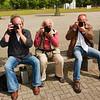 drie Nikons op een rijtje