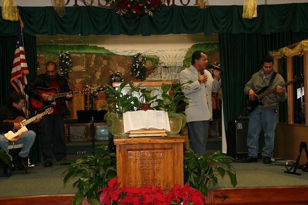 Banquete Navideño 2008