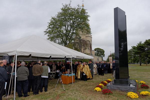 Ukrainain America Veterans Monument Blessing & Convention 2015