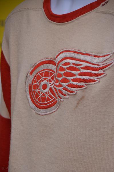 Ukrainian National Museum Hockey Jersey Exhibit sponsored by Selfreliance UAFCU May 2, 2014