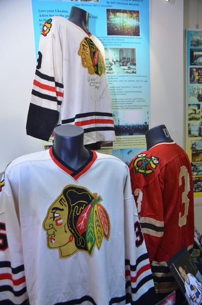 Ukrainain National Museum Hockey Jersey Exhibit