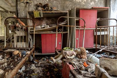 Chernobyl Zone crumbling
