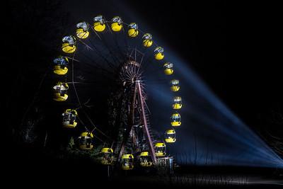 Chernobyl's famous Ferris Wheel