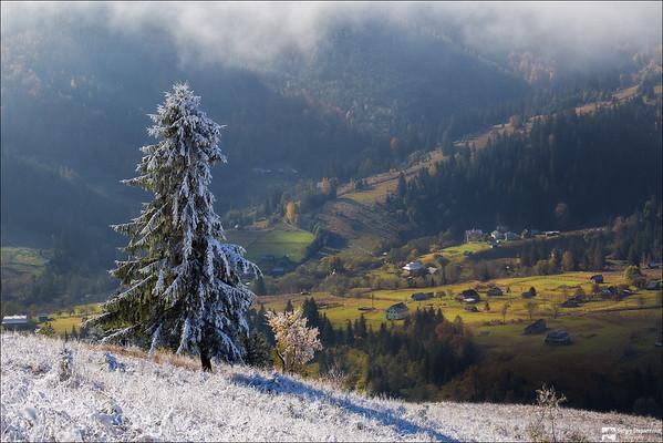 Autumn Meets Winter | Осень встречает зиму
