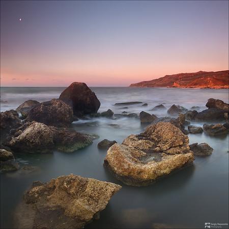 Morning on the Stone Coast | Утро на каменном берегу