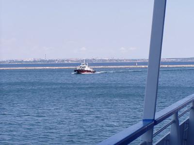 Odessa Port Traffic